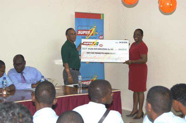 Consolidated Foods Ltd puts $34,000 into phase three of Schools Agriculture (St Lucia)
