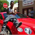 Soulja Boy wrecks prized Bentley by crashing into pregnant woman