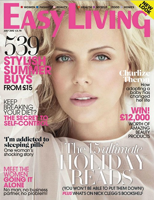 Charlize Theron Talks Adopting, Marriage & More In 'Easy Living' Magazine