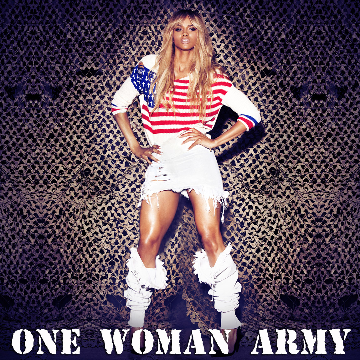 Ciara Is 'One Woman Army' In New Promo Pics