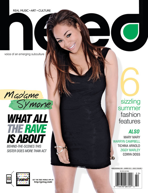 Raven Symone's Beauty Shines On The Cover Of 'Heed' Magazine