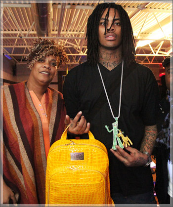 Wacka Flocka fires Mom as Manger : She stole $350,000