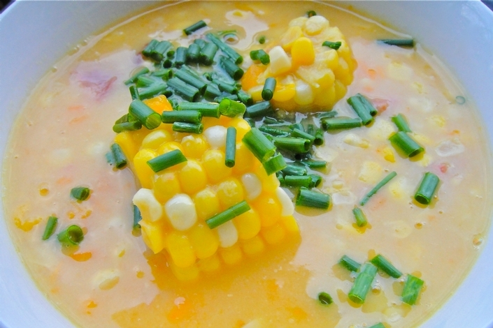 Trini Corn Soup (Recipe)