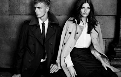 Burberry Black Label Fall/Winter 2012 Campaign