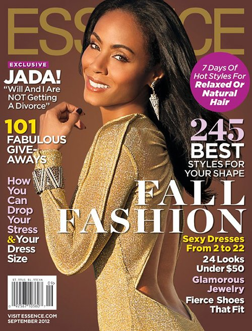 Jada Pinkett Smith Flashes A Golden Smile In 'Essence'
