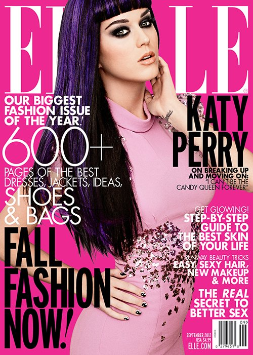 Katy Perry Is A Pink Goddess In 'Elle' Magazine