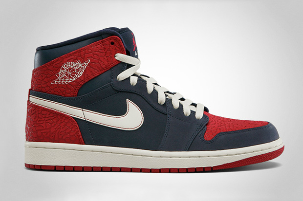 Air Jordan 1 High – Obsidian/Gym Red