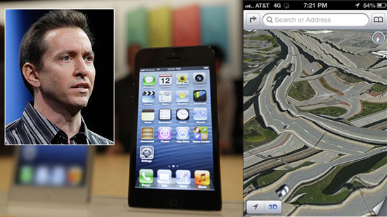 Apple Exec Fired Over iPhone 5 Maps App Failure