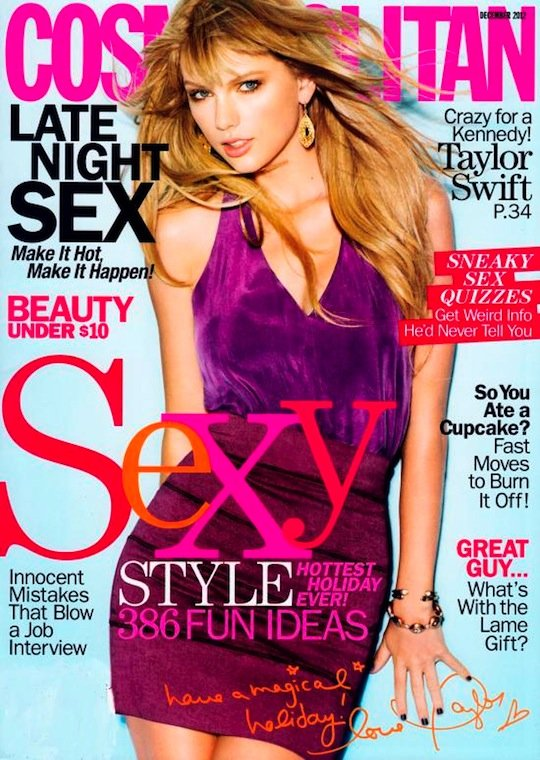 Taylor Swift Talks Relationships, Music & More in 'Cosmopolitan'