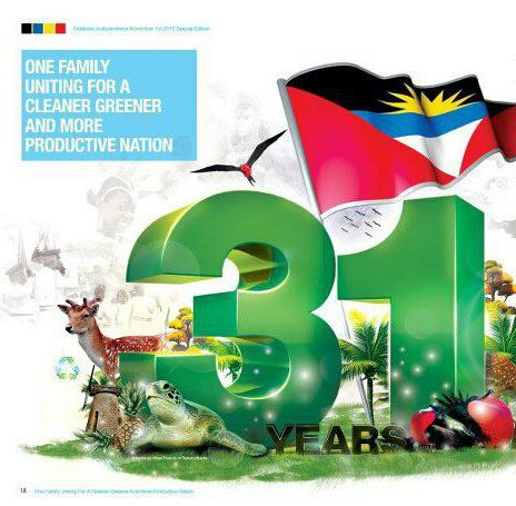 Antigua Celebrates 31yrs of Independence!!