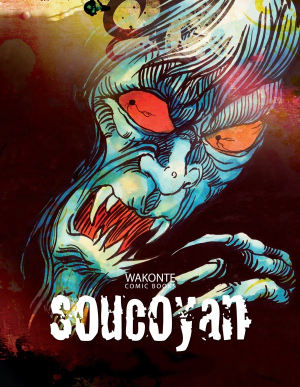 """""""SOUCOYAN"""" A GRAPHIC NOVEL by Alwyn St. Omer (St Lucia News)"""