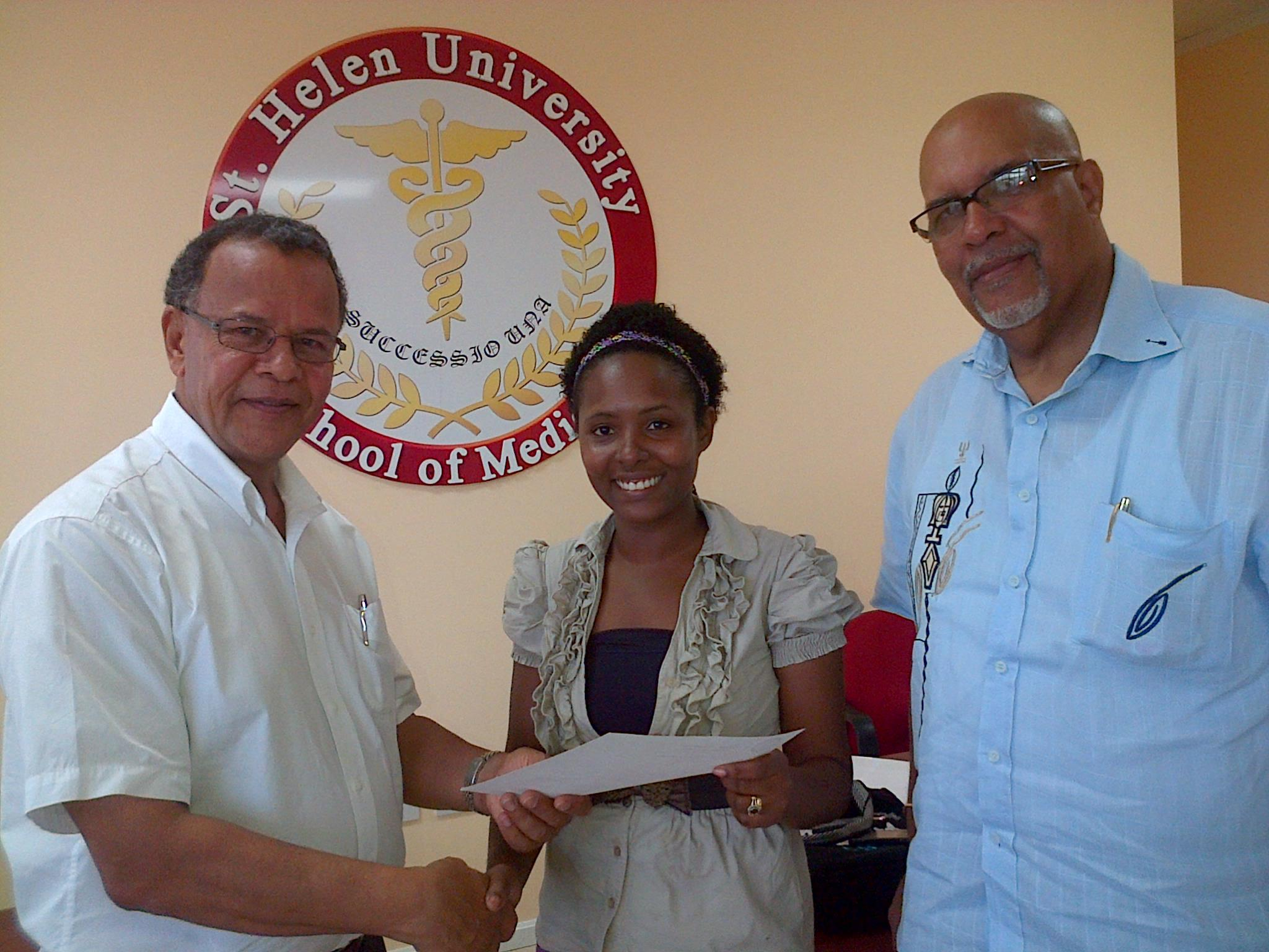 St. Helen University awards first full Scholarship to St. Lucian student (St Lucia News)