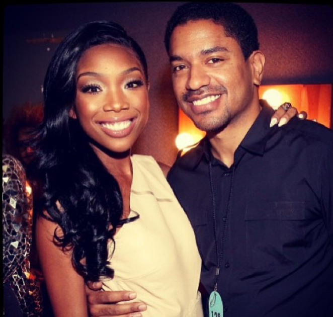 Brandy & Music Executive Ryan Press Are Engaged!