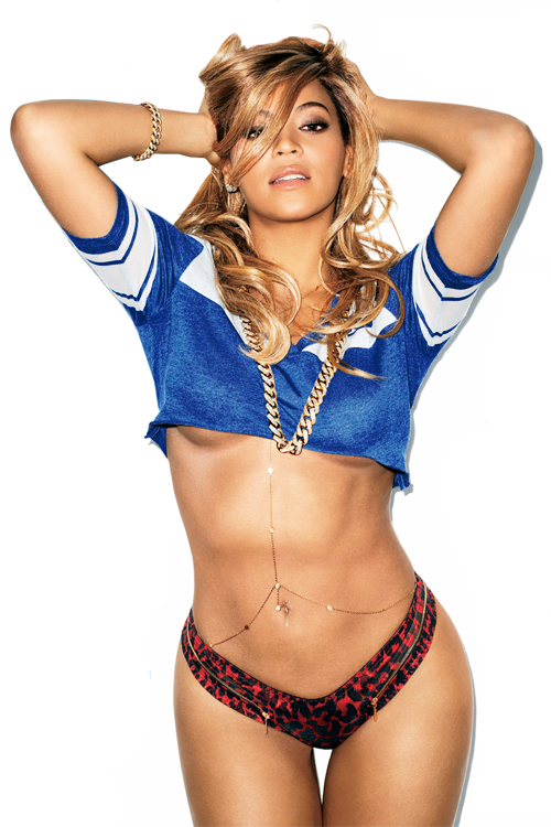 Beyonce Flaunts Almost Nothing For 'GQ' Cover