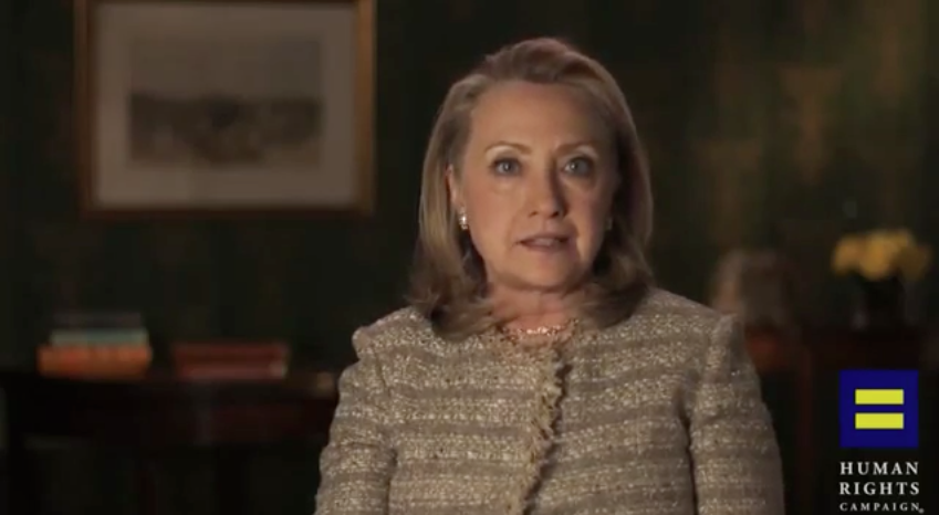 Hillary Clinton Announces Supports For Gay Marriage [Video]