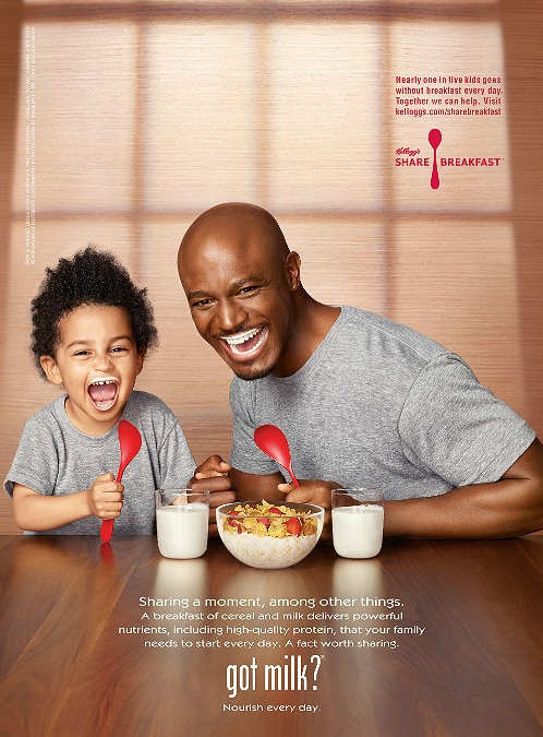 Taye Diggs' 'Got Milk?' With His Adorable Son Walker