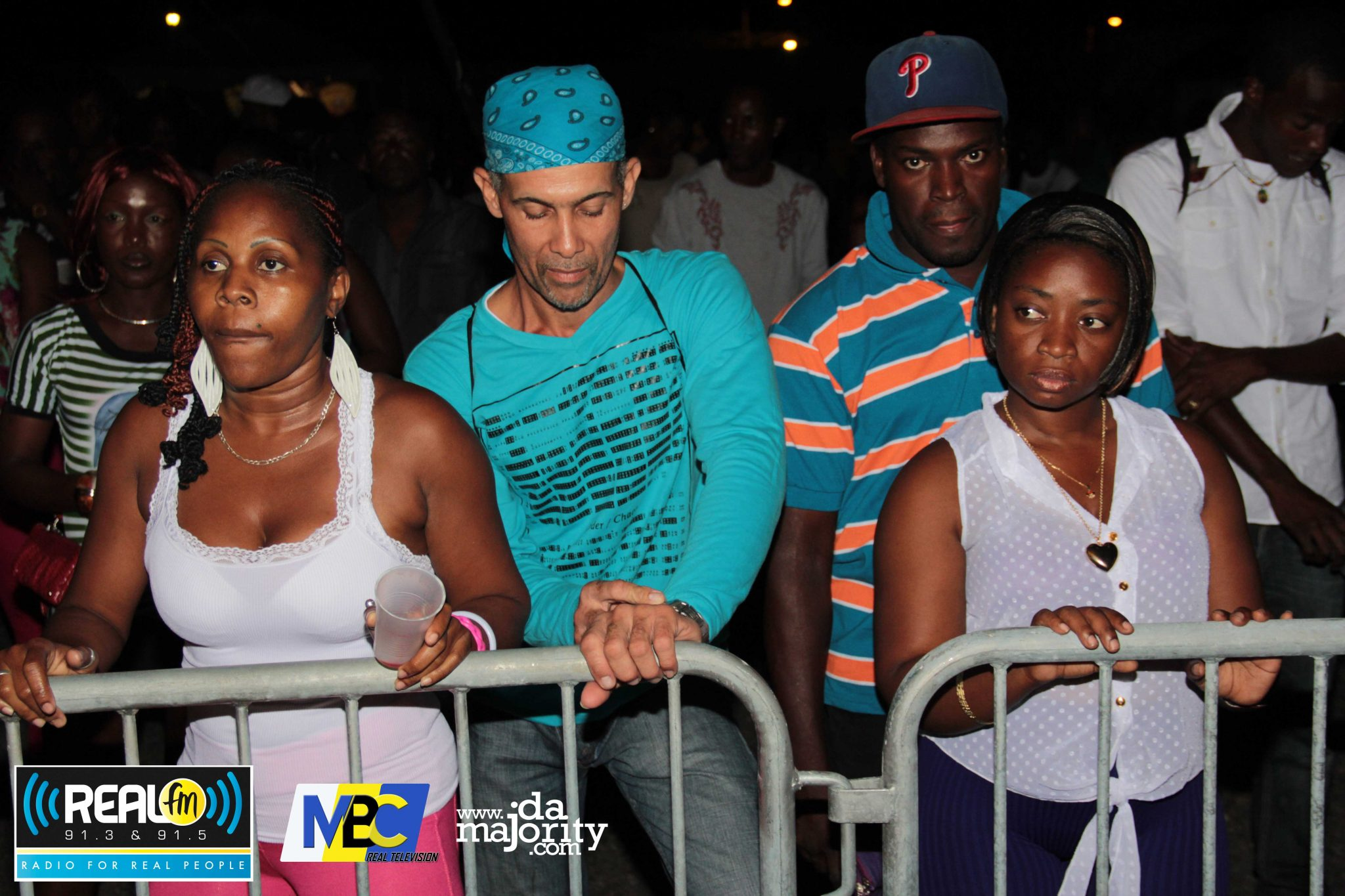 2 Lucian Girls clash at Aidonia Concert @Real 91.3fm & MBC Tv