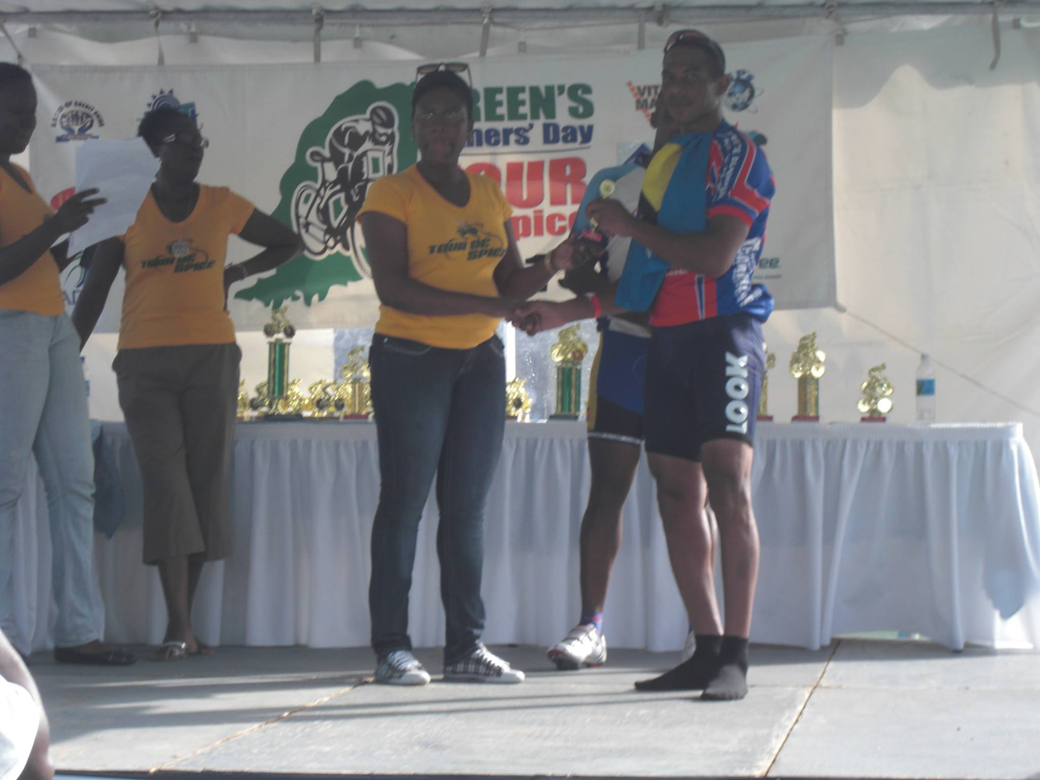 St Lucia's Winston 'Stonny' Williams is 2nd overall in TOUR DE SPICE MASTERS in Grenada (Sports)