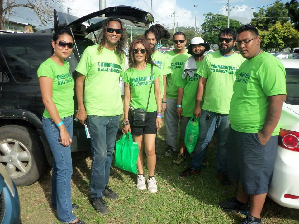 "Cancer Society ""Walk for Life"" event : Info surfaced on Cannabinods by Cannabis Movement (Trinidad)"
