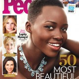 Lupita Nyong'o 1st Black Woman To Be Named People's  Mag. Most Beautiful