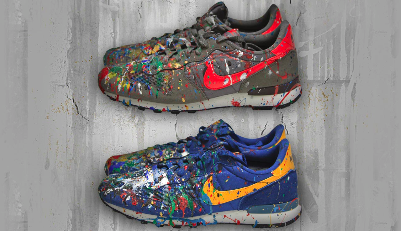 Nike X Mr. Brainwash. Just Did It (Nike Air Force 1, High