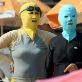 The  'Face-Kini' | The latest craze to hit China's beaches