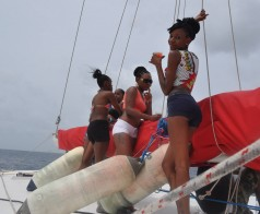 Highlights from Dj Play Boat ride | St Lucia