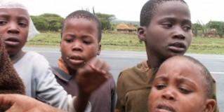 CHILD BEGGING | By Felicia Browne