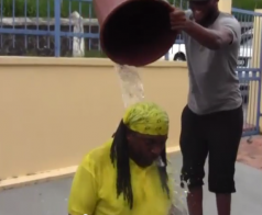 2 Lucians accept Ice Bucket Challenge