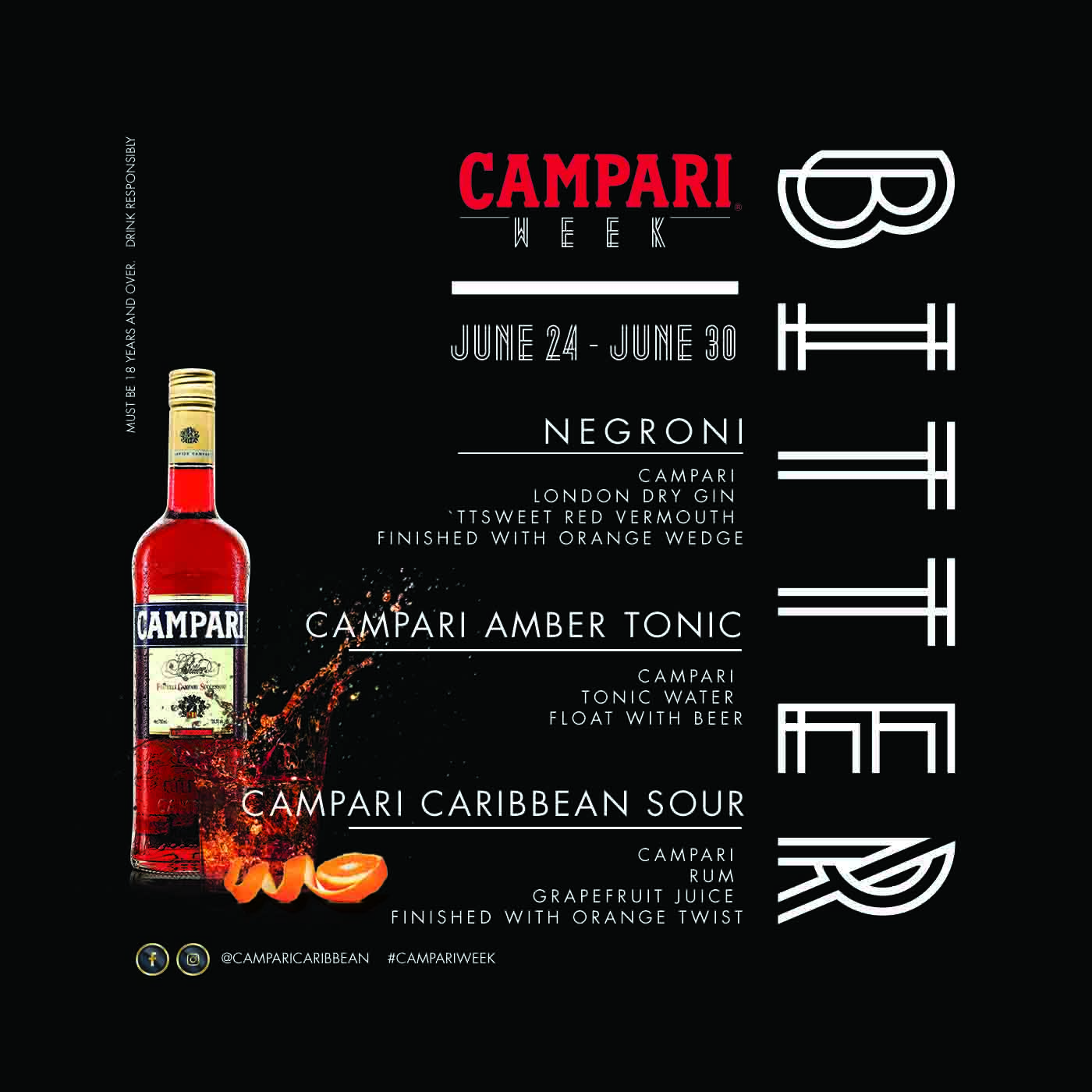 Campari Week- Where Bitter-sweet Never Tasted So Good