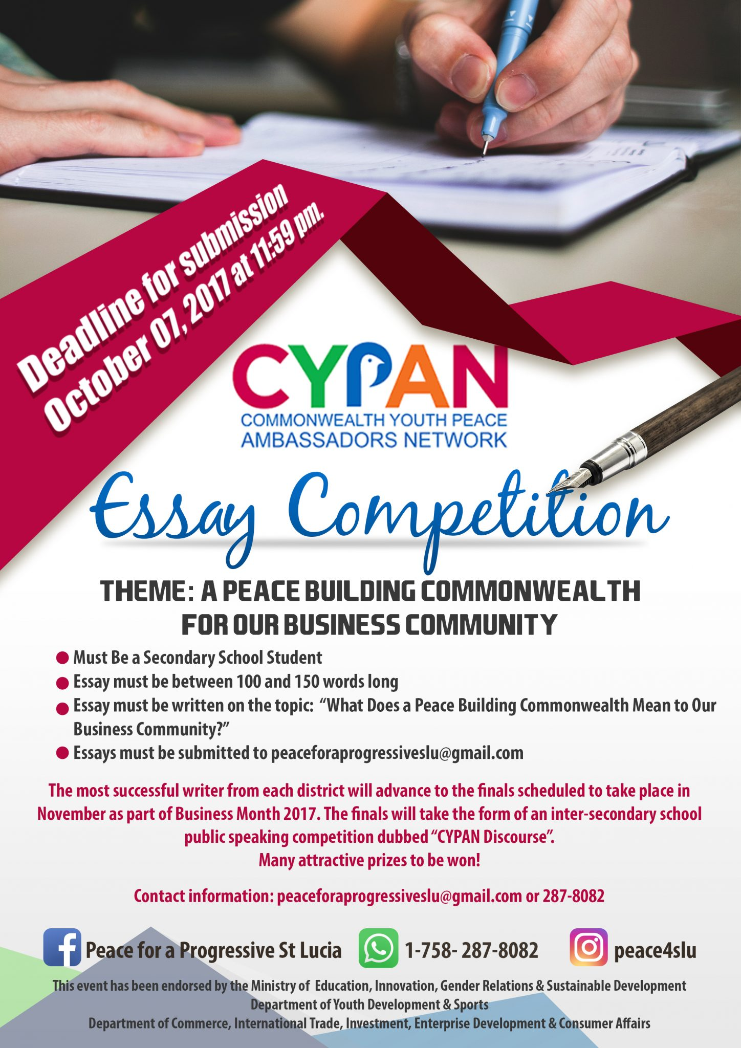 Foreign Service Youth Foundation - Essay Contest