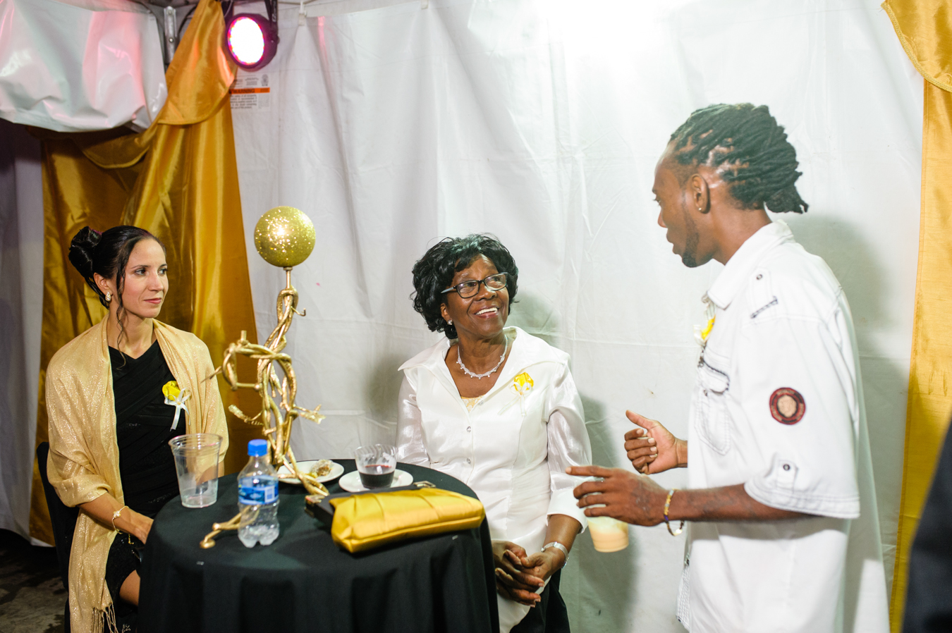 office of the mayor team members shine at gala awards saint lucia news. Black Bedroom Furniture Sets. Home Design Ideas