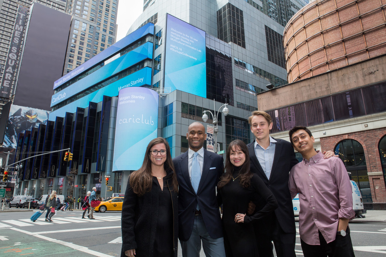 cariclub selected as one of morgan stanleys 10 startup companies for 2018 second cohort of multicultural innovation lab